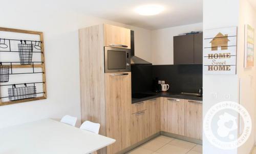 Аренда на лыжном курорте Апартаменты 2 комнат 4 чел. (Sélection 36m²-1) - Résidence les Mélèzes - Maeva Home - La Joue du Loup - зимой под открытым небом