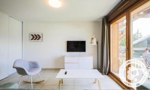 Аренда на лыжном курорте Квартира студия для 4 чел. (Sélection 32m²-1) - Résidence les Mélèzes - Maeva Home - La Joue du Loup - зимой под открытым небом