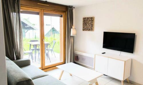 Аренда на лыжном курорте Апартаменты 2 комнат 4 чел. (Sélection 43m²) - Résidence les Mélèzes - Maeva Home - La Joue du Loup - зимой под открытым небом