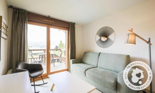 Аренда на лыжном курорте Апартаменты 2 комнат 4 чел. (Sélection -1) - Résidence les Mélèzes - Maeva Home - La Joue du Loup - зимой под открытым небом