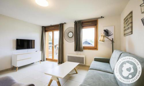 Аренда на лыжном курорте Квартира студия для 2 чел. (Sélection -2) - Résidence les Mélèzes - Maeva Home - La Joue du Loup - зимой под открытым небом