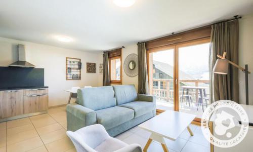 Аренда на лыжном курорте Квартира студия для 4 чел. (Sélection -1) - Résidence les Mélèzes - Maeva Home - La Joue du Loup - зимой под открытым небом