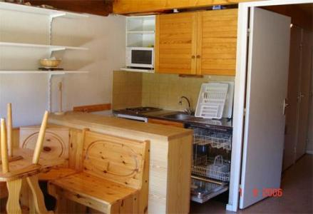 Location au ski Appartement 2 pièces 6 personnes - Residences Seclym - La Joue du Loup - Kitchenette