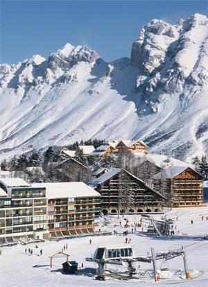 Location au ski Residences Seclym - La Joue du Loup - Extérieur hiver