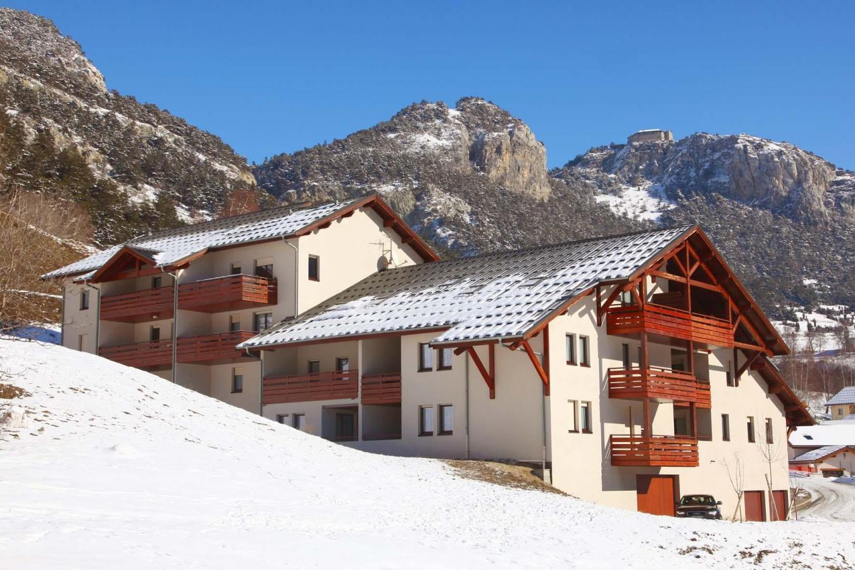 Location au ski Residence Plein Soleil - La Norma - Extérieur hiver
