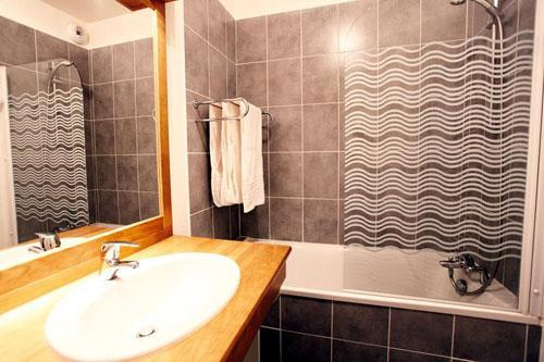 Location au ski Residence Plein Soleil - La Norma - Salle de bains