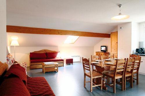 Location au ski Residence Plein Soleil - La Norma - Séjour