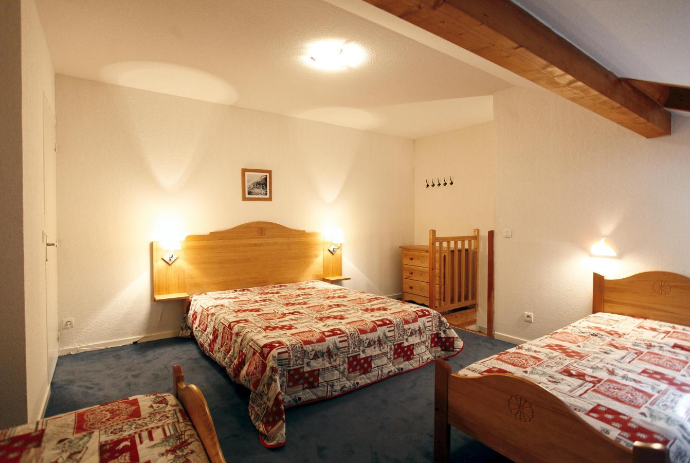Location au ski Residence Plein Soleil - La Norma - Chambre