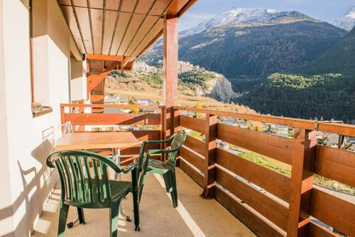Location au ski Residence Plein Soleil - La Norma - Balcon