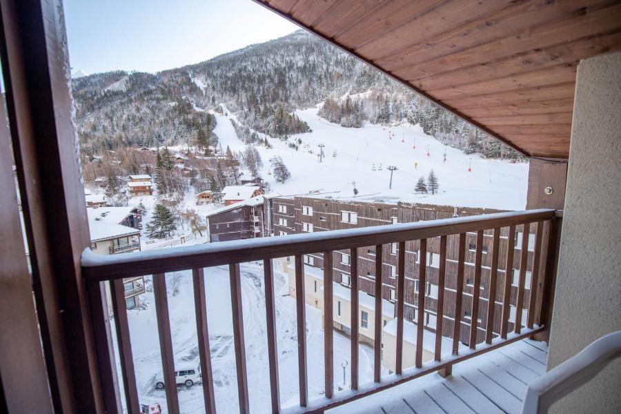 Wakacje w górach Studio z antresolą 4 osoby (APT03) - Chalet le Grand Air - La Norma - Zima na zewnątrz