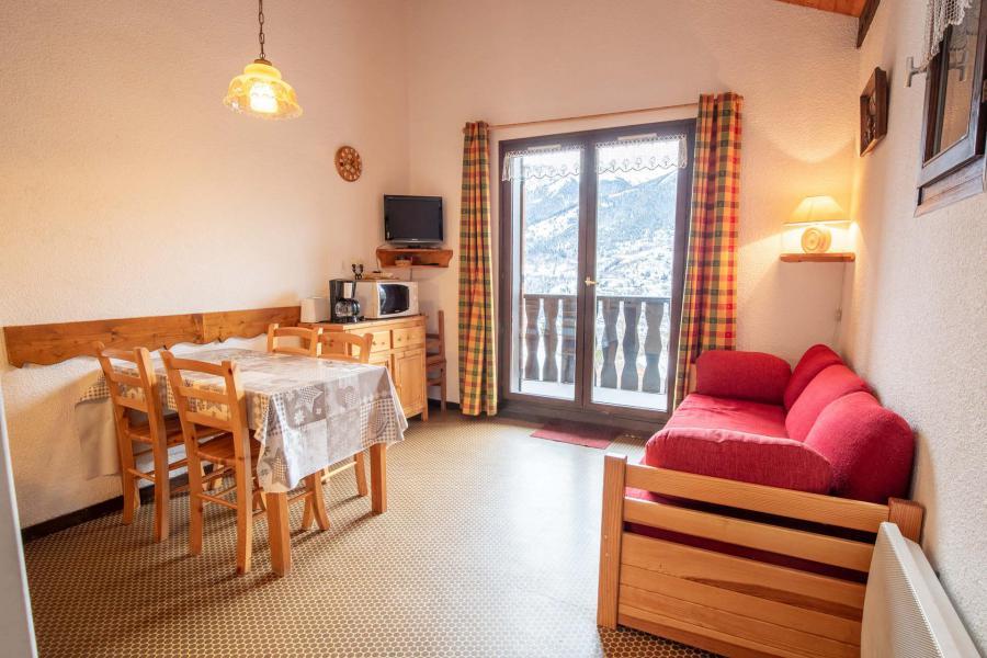 Аренда на лыжном курорте Апартаменты 2 комнат 6 чел. (EP75A) - Chalets les Epervières - La Norma - Салон