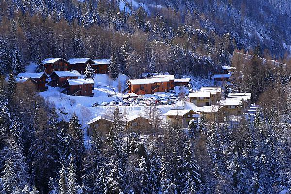 Wakacje w górach Chalets les Epervières - La Norma - Zima na zewnątrz