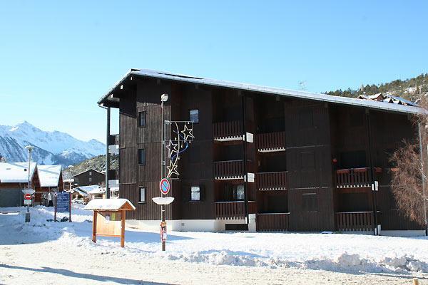 Vacaciones en montaña Résidence les Airelles - La Norma - Invierno