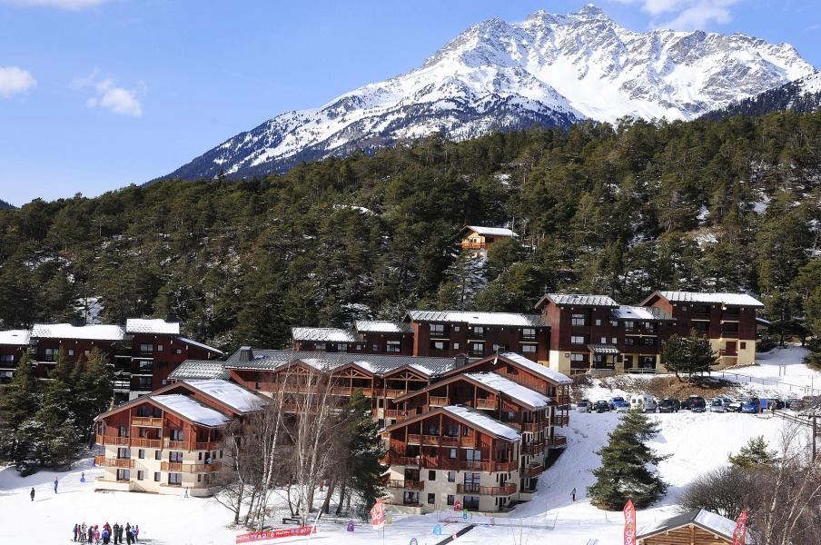 Urlaub in den Bergen Résidence les Balcons d'Anaïs - La Norma - Draußen im Winter