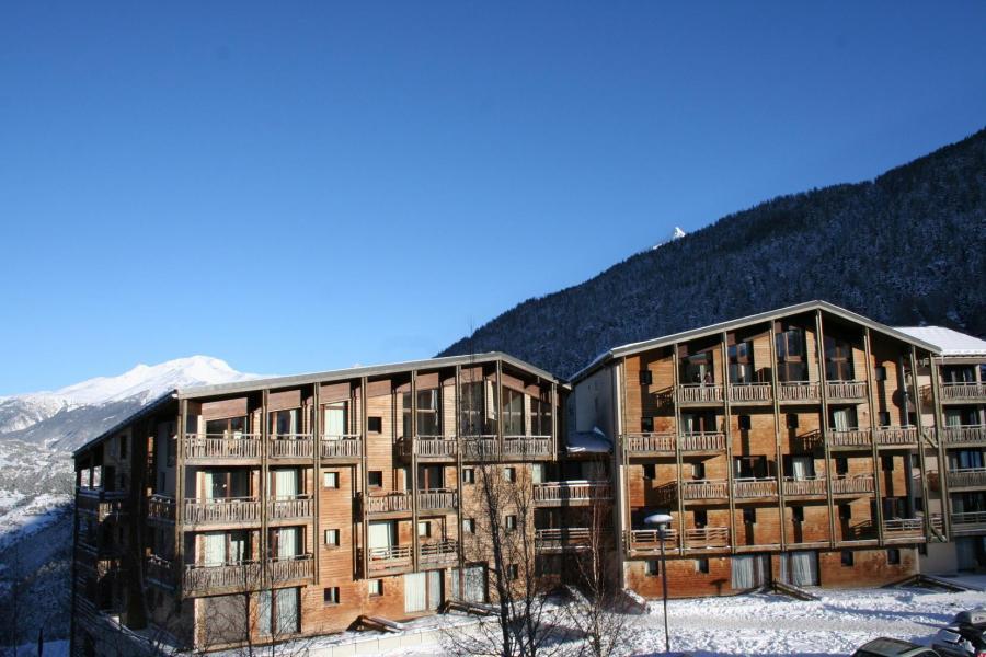 Location au ski Résidence les Chalets et Balcons de la Vanoise - La Norma - Extérieur hiver