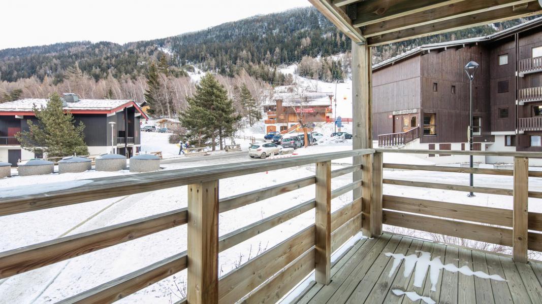 Rent in ski resort Résidence les Chalets et Balcons de la Vanoise - La Norma - Balcony
