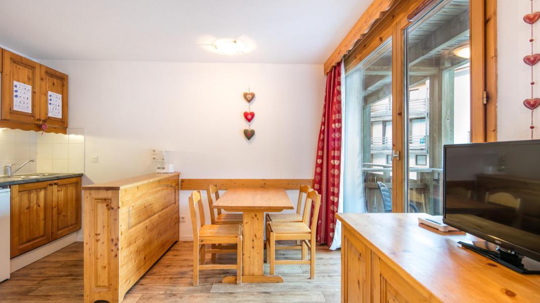 Location au ski Résidence les Chalets et Balcons de la Vanoise - La Norma - Coin repas