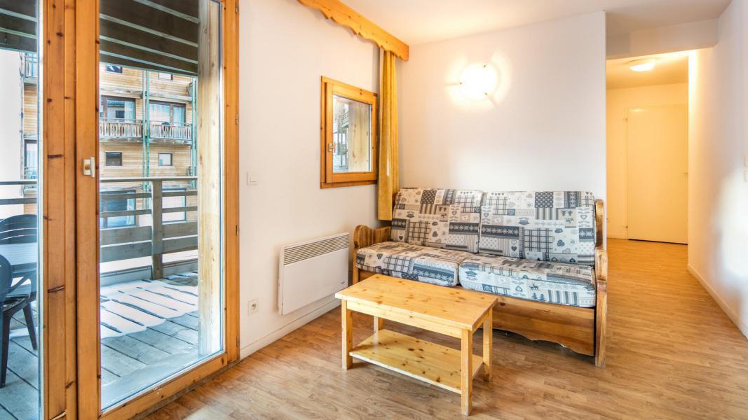 Rent in ski resort Résidence les Chalets et Balcons de la Vanoise - La Norma - Living room