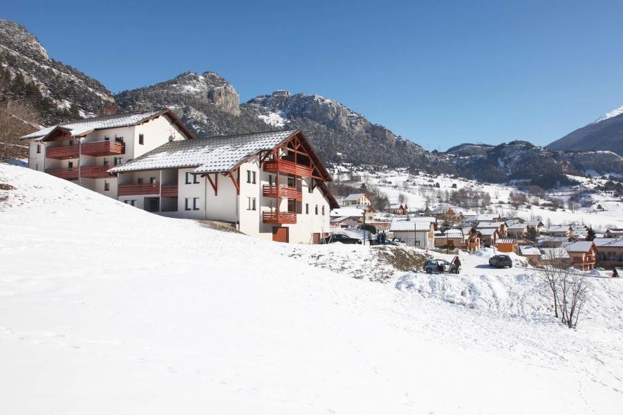 Vakantie in de bergen Résidence Plein Soleil - La Norma - Buiten winter