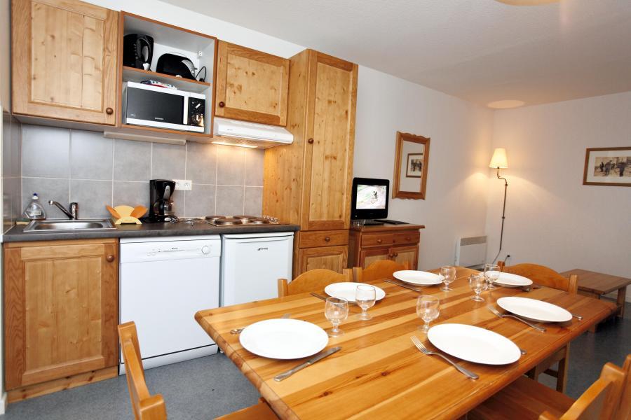 Location au ski Résidence Plein Soleil - La Norma - Coin repas