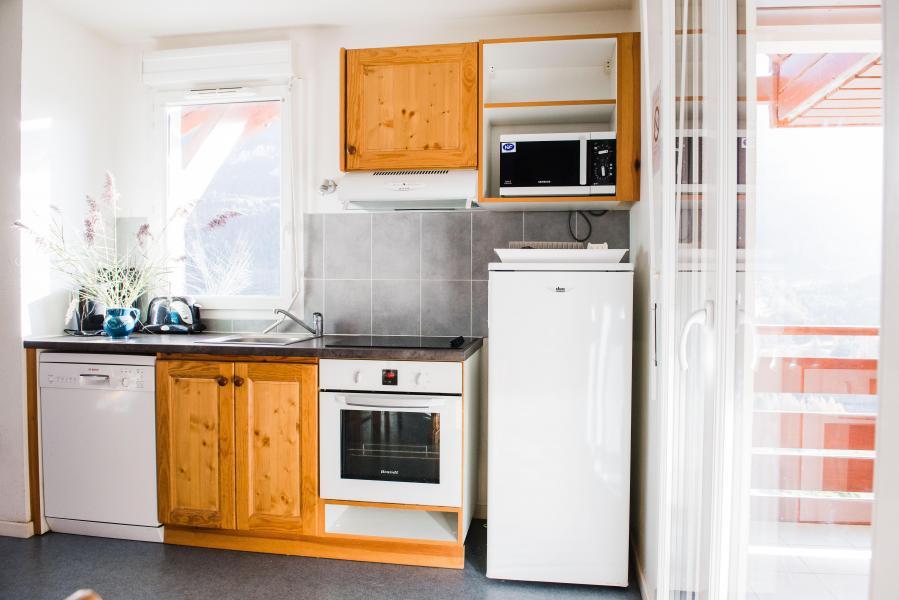 Аренда на лыжном курорте Résidence Plein Soleil - La Norma - Кухня