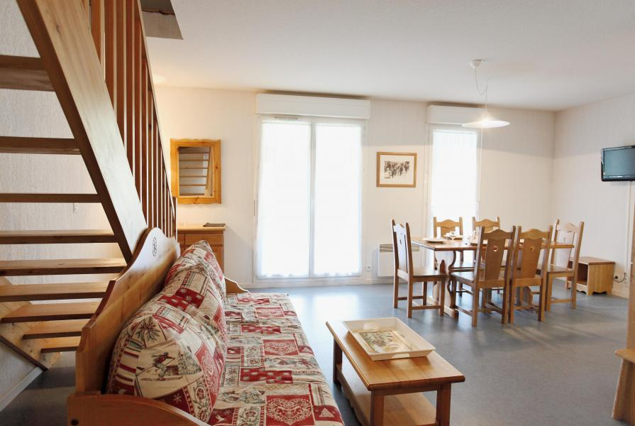 Location au ski Résidence Plein Soleil - La Norma - Salle à manger