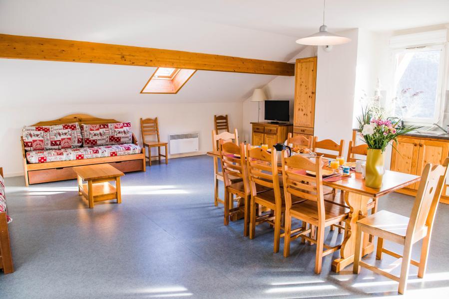 Location au ski Résidence Plein Soleil - La Norma - Séjour