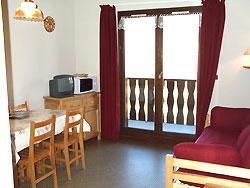 Location au ski Appartement 2 pièces coin montagne 6 personnes (EP75A) - Chalets Les Epervieres