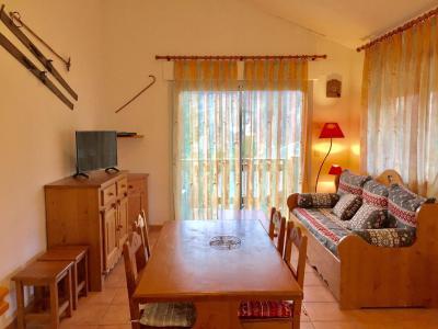Rent in ski resort Semi-detached 3 room chalet 6 people (CHT84) - Les Chalets Petit Bonheur - La Norma - Living room