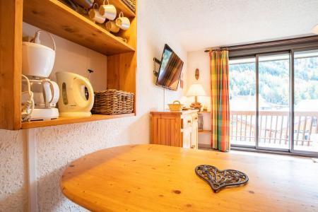 Rent in ski resort Studio sleeping corner 4 people (PR32CO) - Résidence le Pra - La Norma