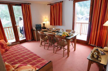 Location au ski Appartement 2-3 pièces 6 personnes - Residence Les Balcons D'anaïs - La Norma - Séjour
