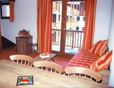 Location au ski Appartement 4 pièces 8 personnes - Residence Les Balcons D'anaïs - La Norma - Séjour