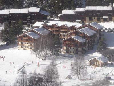 Location au ski Residence Les Balcons D'anaïs - La Norma - Extérieur hiver