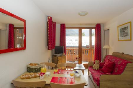 Rent in ski resort Résidence les Balcons d'Anaïs - La Norma - Living room