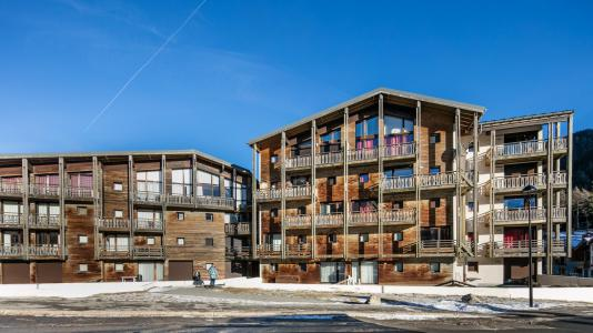Rent in ski resort Résidence les Chalets et Balcons de la Vanoise - La Norma - Winter outside