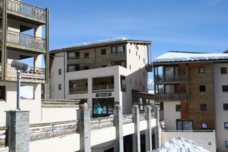 Location au ski Residence Les Chalets Et Balcons De La Vanoise - La Norma - Extérieur hiver