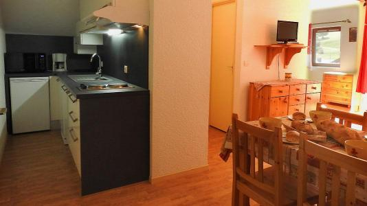 Rent in ski resort 2 room apartment 4 people (SB208A) - Résidence les Portes de la Vanoise - La Norma - Dining area