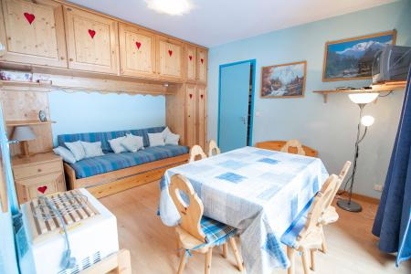 Rent in ski resort 2 room apartment sleeping corner 6 people (SB412B) - Résidence les Portes de la Vanoise - La Norma - Living room
