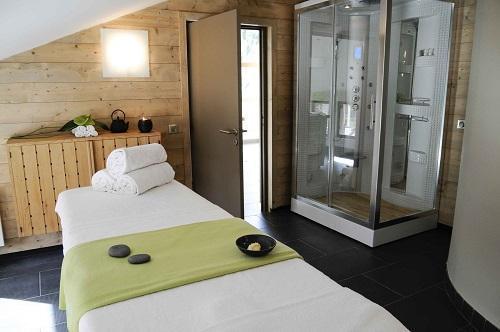 Location au ski Hotel La Tourmaline - La Plagne - Massage