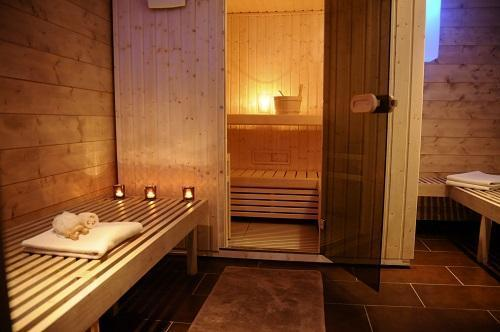 Location au ski Hotel La Tourmaline - La Plagne - Sauna