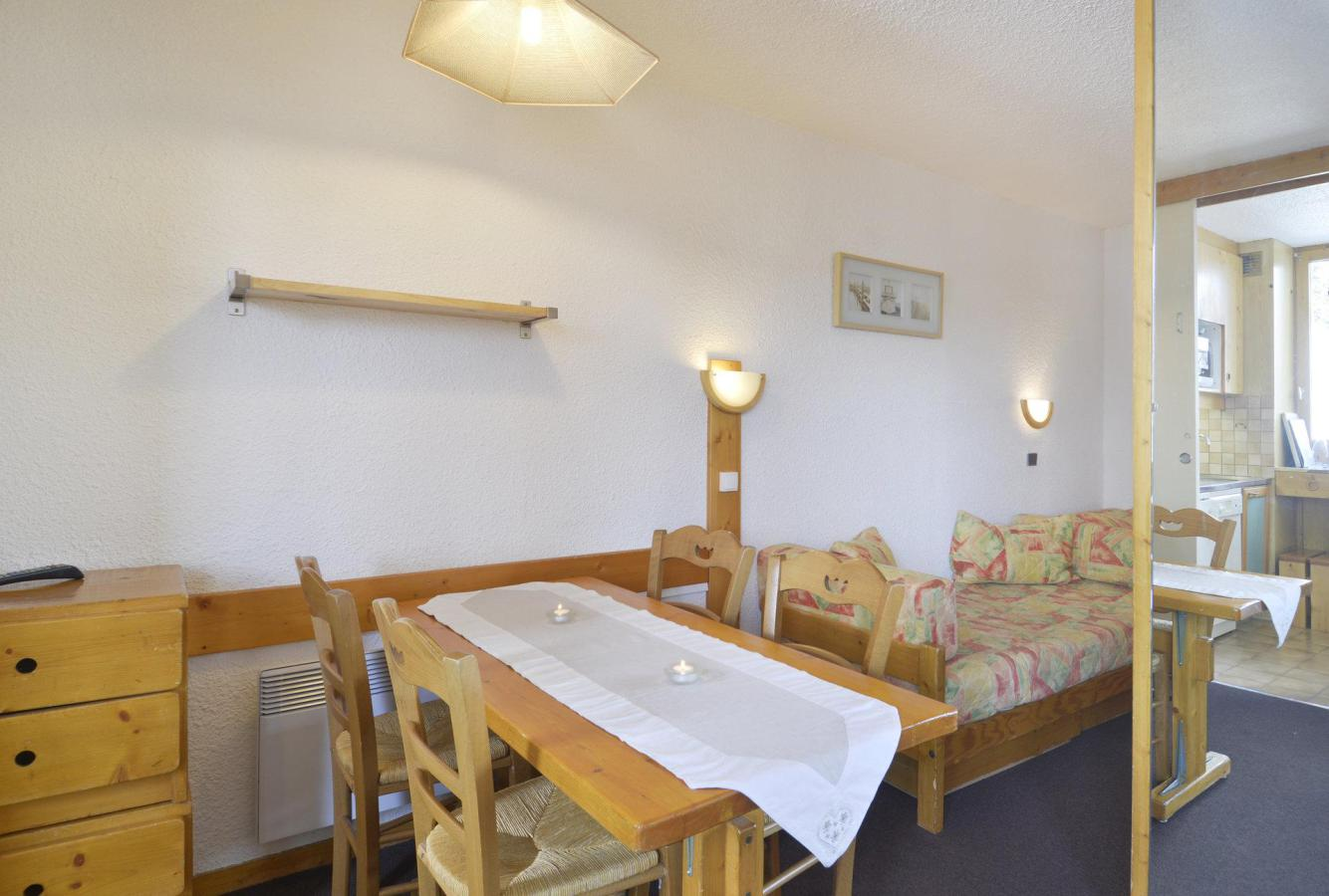 Location au ski Studio 4 personnes (202) - La Residence 3000 - La Plagne - Table