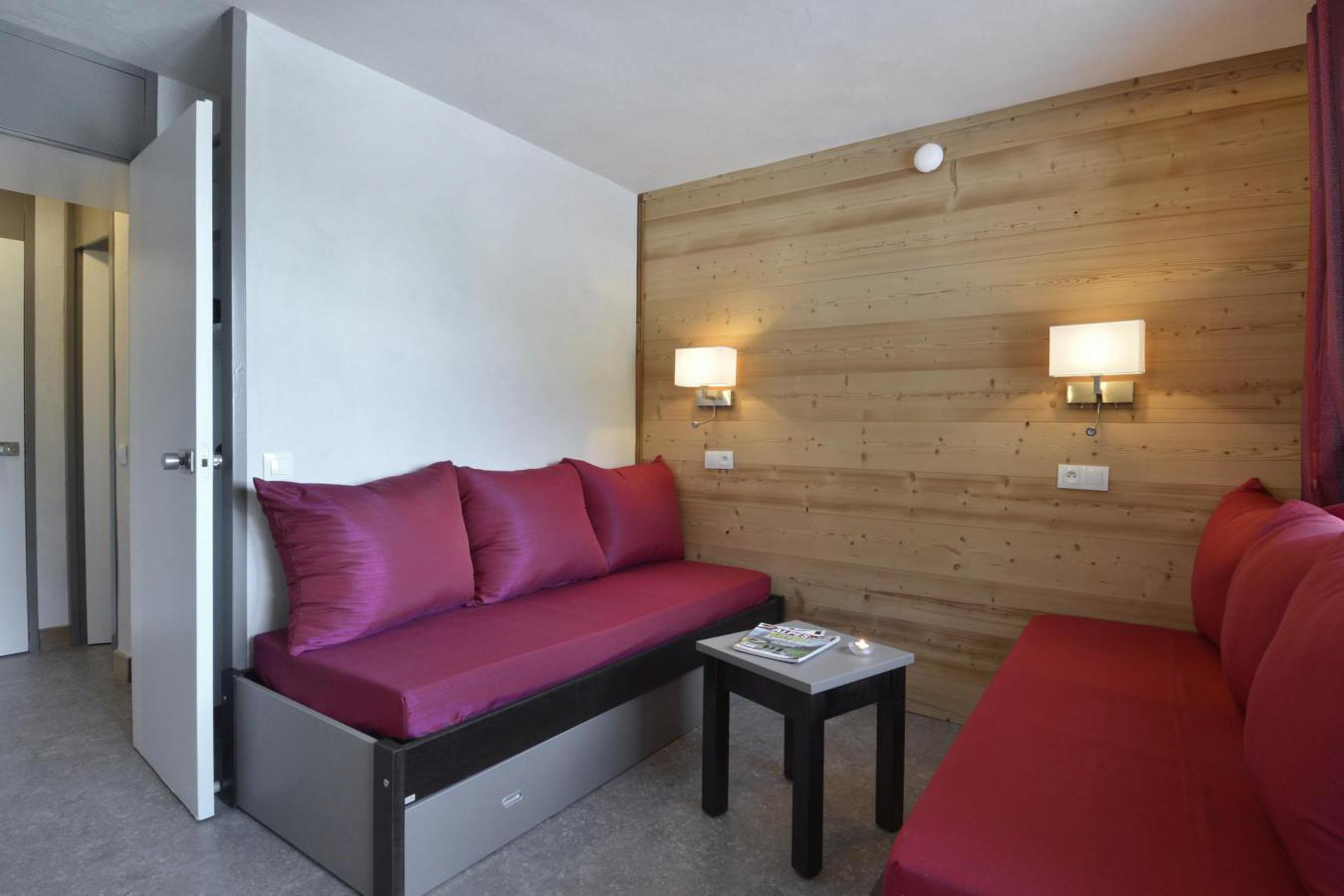 Location au ski Studio 4 personnes (416) - La Residence 3000 - La Plagne - Table