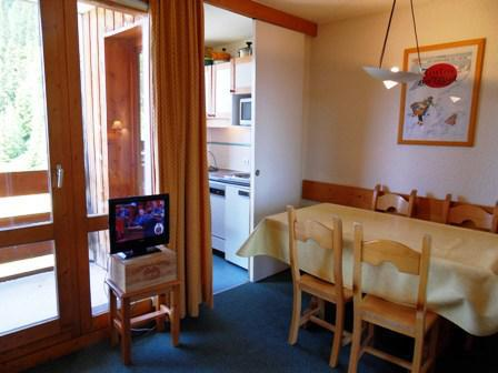 Location au ski Studio 4 personnes (622) - La Residence 3000 - La Plagne - Table