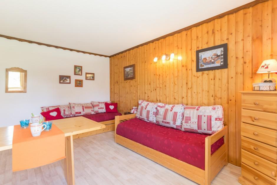 Location au ski Studio 4 personnes (108) - La Residence Aollets - La Plagne