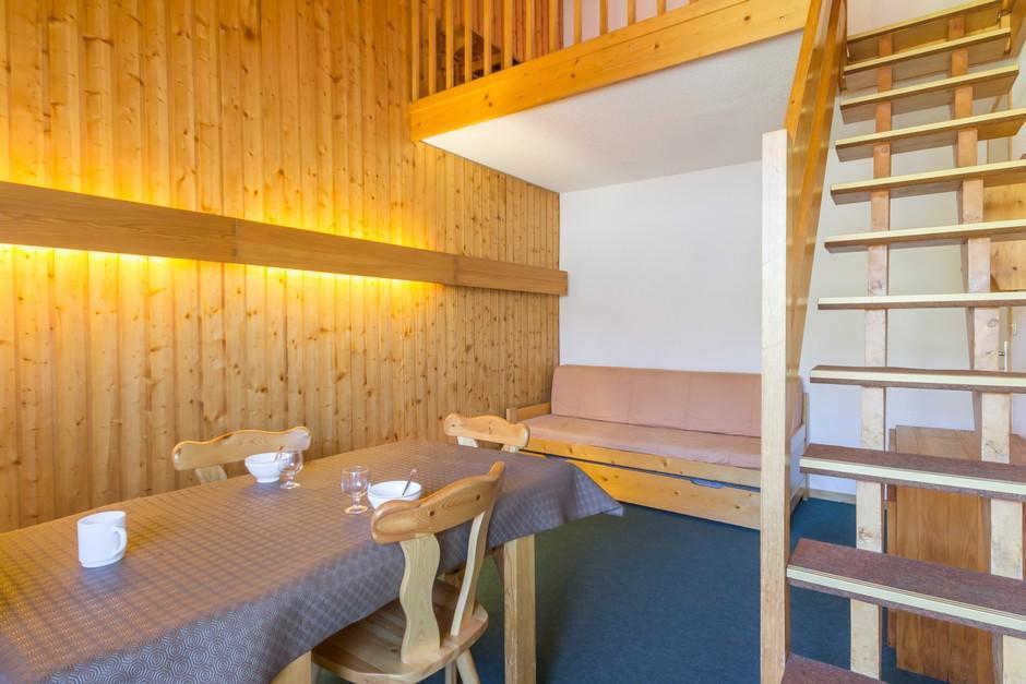 Location au ski Studio mezzanine 4 personnes (AO424) - La Residence Aollets - La Plagne