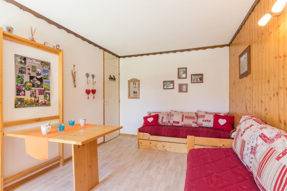 Location au ski Studio 4 personnes (108) - La Residence Aollets - La Plagne - Salle d'eau