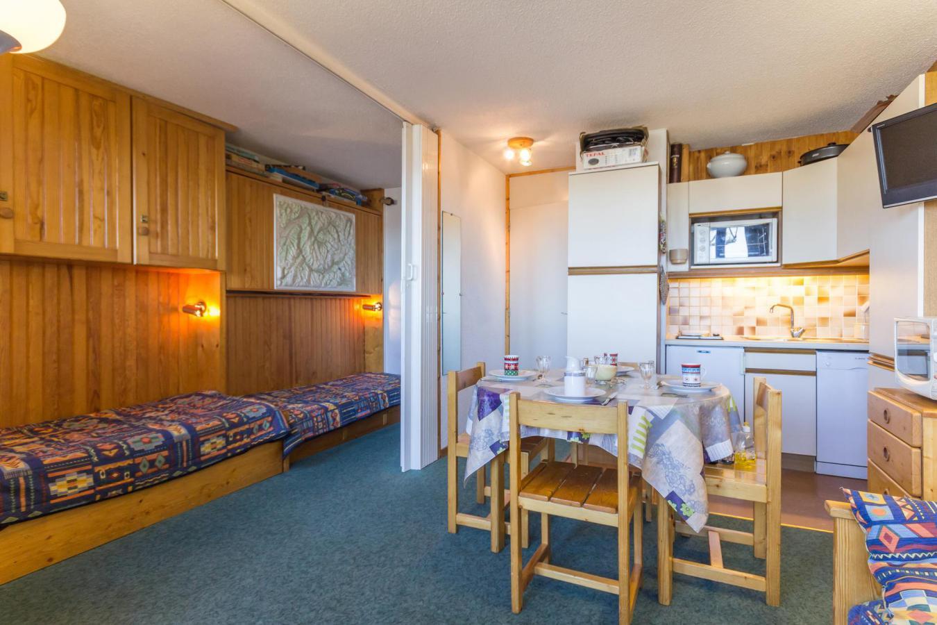 Location au ski Studio 4 personnes (21) - La Residence Aollets - La Plagne - Table