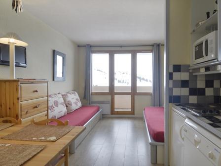 Location au ski Studio coin montagne 4 personnes (104) - La Residence Callisto - La Plagne