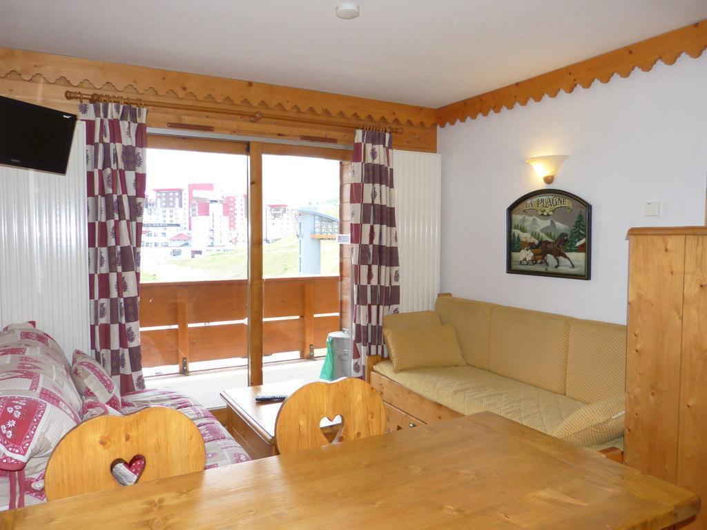 Location au ski Appartement 2 pièces cabine 6 personnes (B33) - La Residence Les Hauts Bois - La Plagne - Table