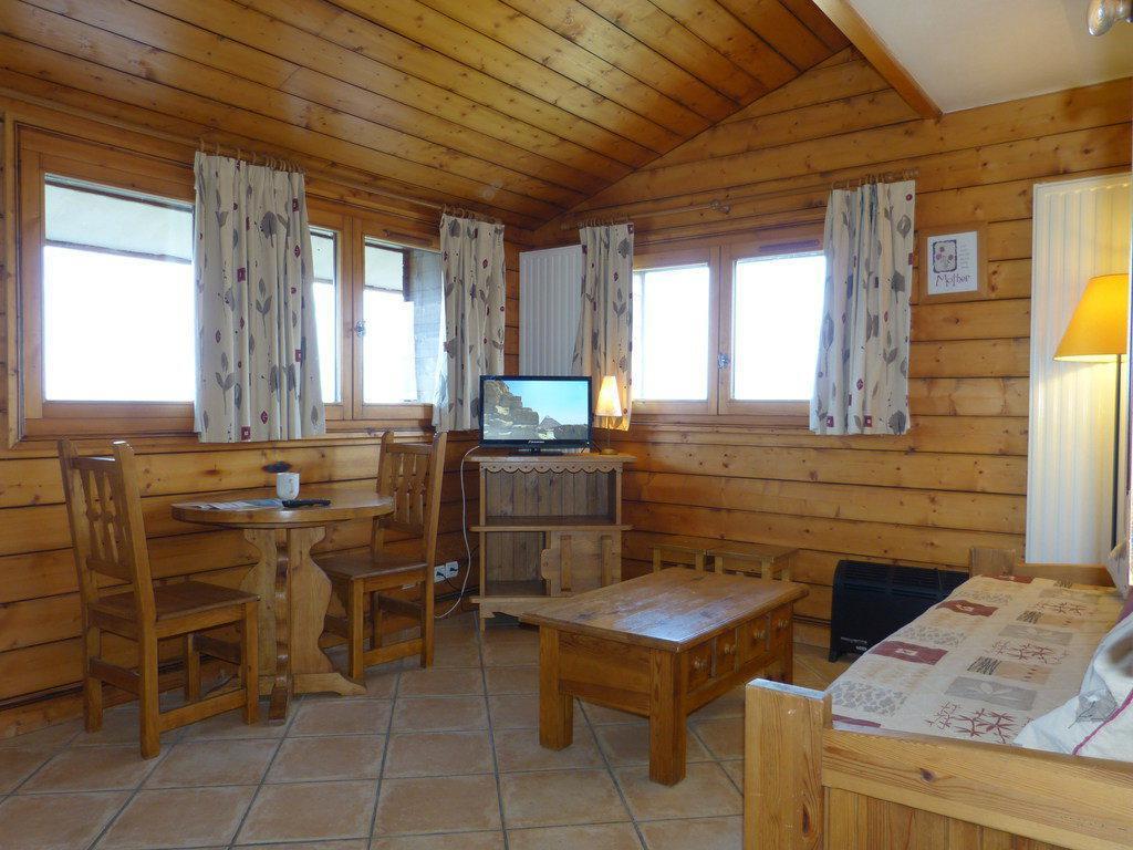 Location au ski Studio 2 personnes (B63) - La Residence Les Hauts Bois - La Plagne - Séjour